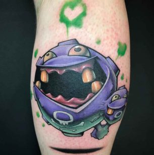 Pokemon Tattoo Weezing