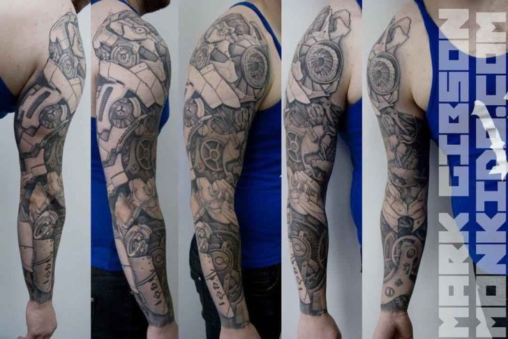 Robotic Tattoo Sleeve Mechanic