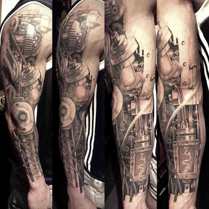 Side Arm Tattoo Sleeve