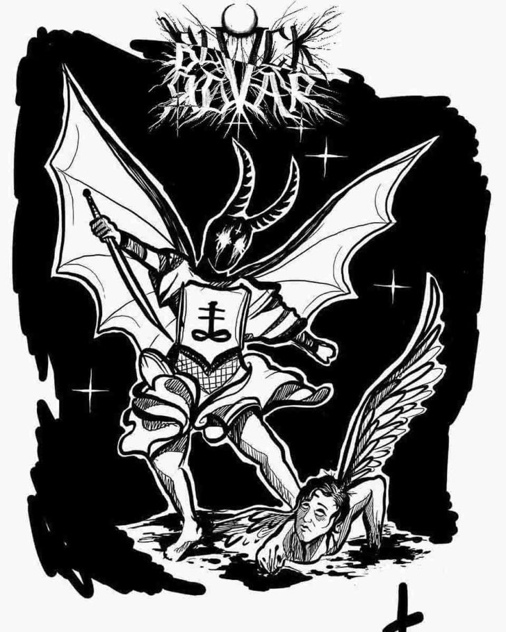 St. Micahel Tattoo Design