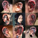 Tattoos on Ear