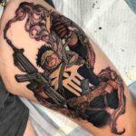 The Punisher Tattoo
