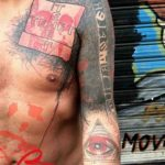 Trash Polka Tattoo Tenet