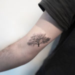 Tree Tattoo on Bicep