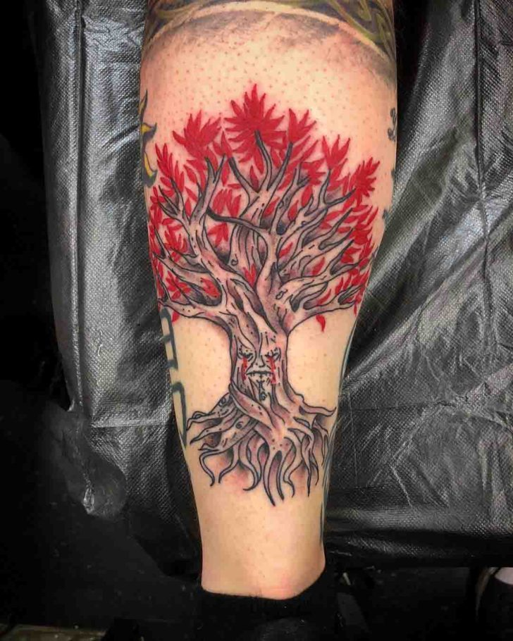 Evil Tree of Life Tattoo