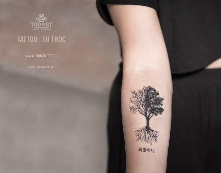 Forearm Tree of LIfe Tattoo