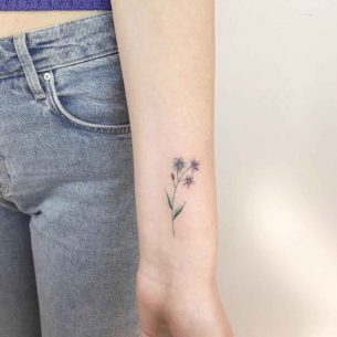 Forget-Me-Not Tattoo