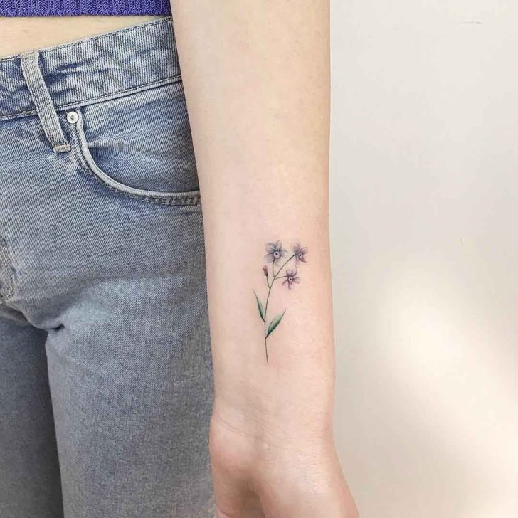 forget me not tattoo best tattoo ideas gallery rh dubuddha org Forget Me Not Wrist Tattoo Forget Me Not Tattoo Outline