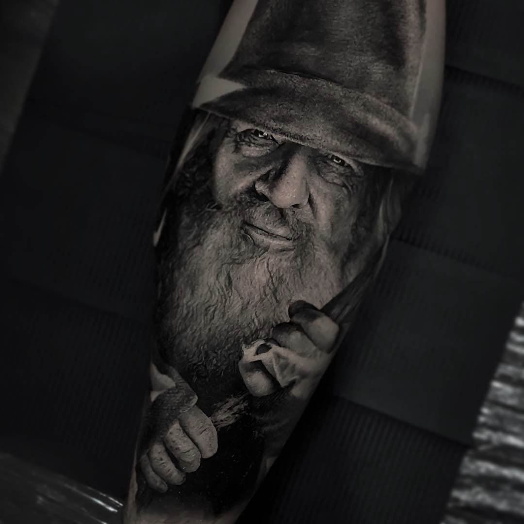 grey gendalf tattoo