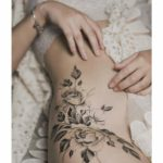 Intimate Roses Tattoo
