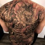 Monkey King Tattoo on Back