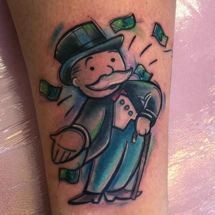 monopoly tattoo