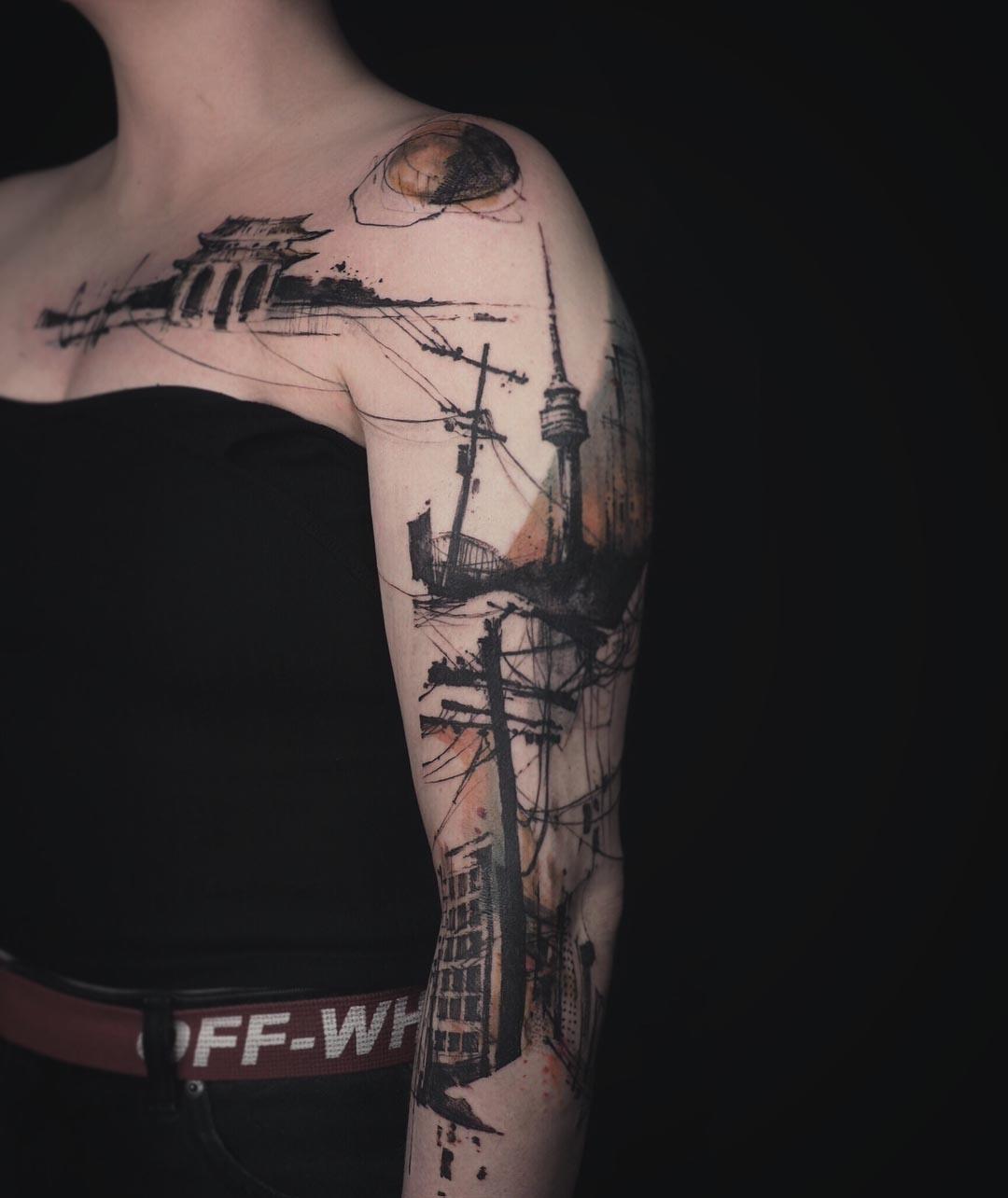 seul city tattoo