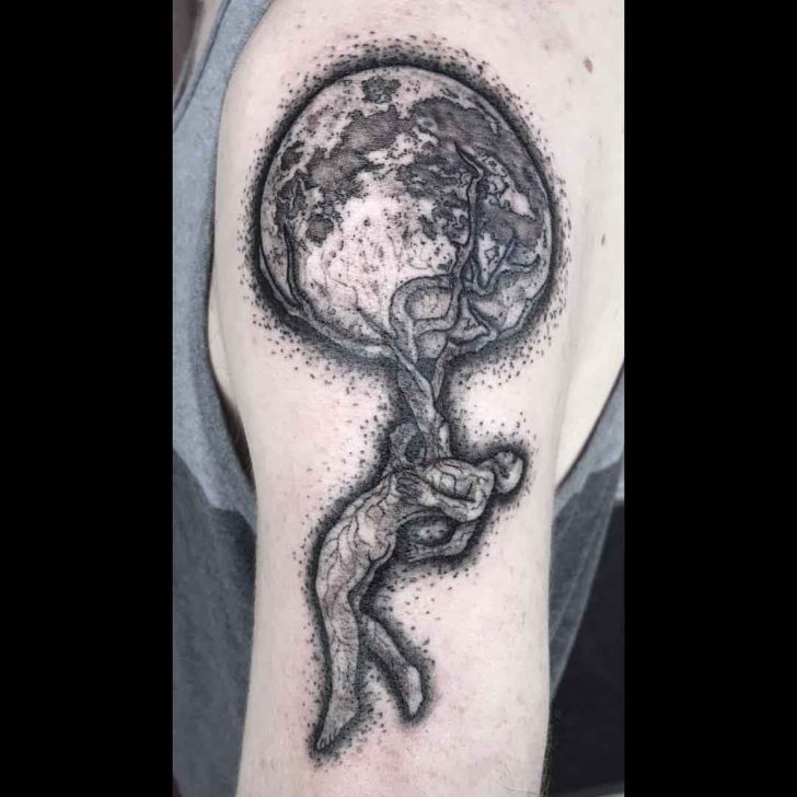 Shoulder Tree of LIfe Tattoo