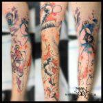 Space Walk Tattoo