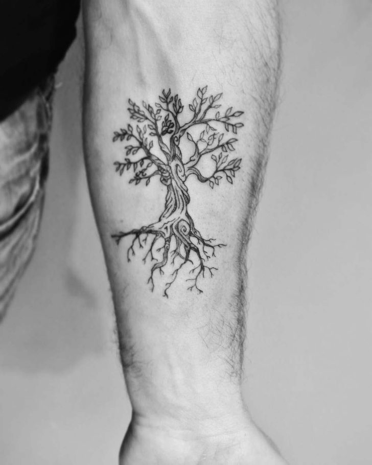 Tree of Life Tattoo on Forearm