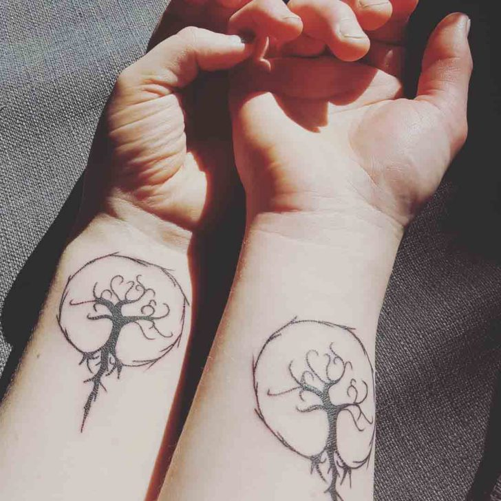 Tree of Life Tattoos For Couple
