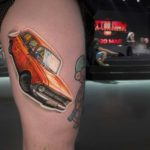 USSR Car Tattoo