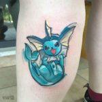 Vaporeon Tattoo Pokemon