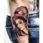Amy Winehouse Tattoo on Arm