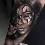 Arm Tattoo Chicano Girl