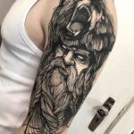 Berserker Tattoo on Shoulder