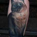 Big Eyes Kitty Tattoo