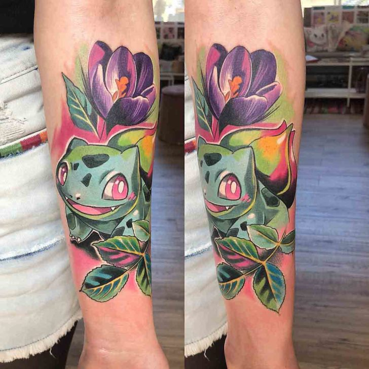 pokemon tattoo bulbasaur