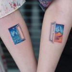 Doors Couple Tattoos