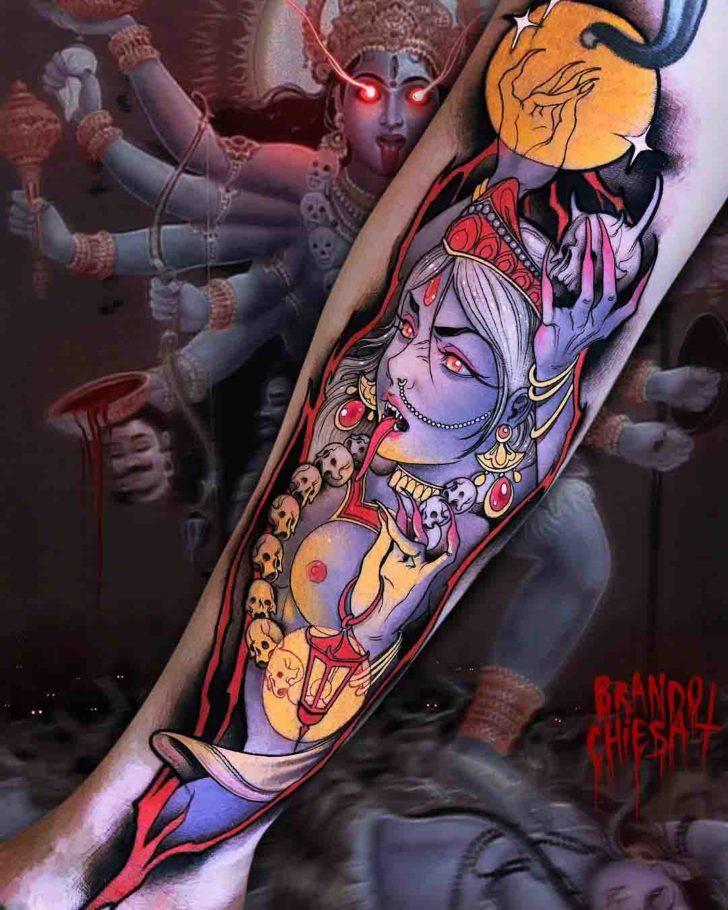 arm tattoo Kali