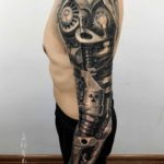 Mechanical Tattoo Sleeve