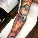 Naruto Tattoo Sleeve