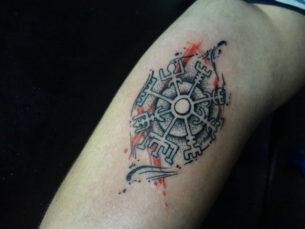 Nordic Compas Tattoo