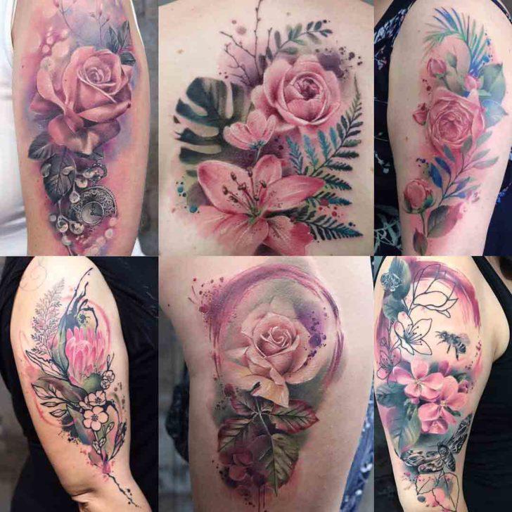 tattoos of roses