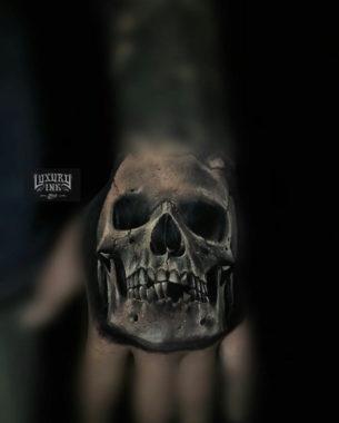 Skull Tattoo Hand