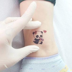 Small Panda Tattoo