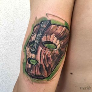 The Mask Tattoo