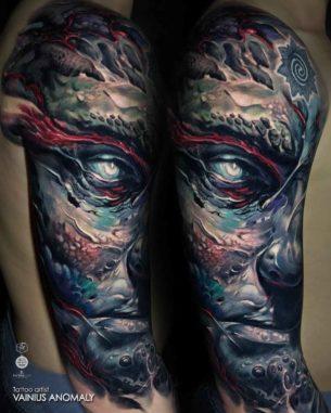 Titan Tattoo Sleeve