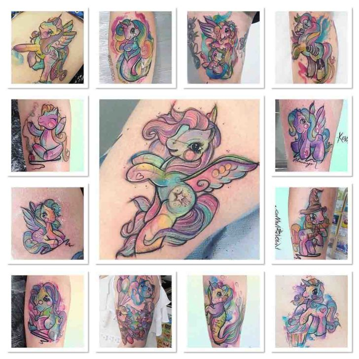 many unicorn tattoos