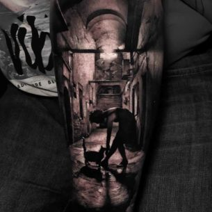 3D Tattoo Lonelyness