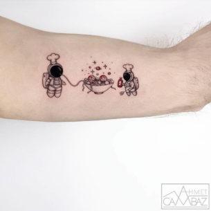 Astrocooks Spaghetti Tattoo