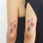 Cactus Tattoos For Couple