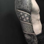Dotwork Half Sleeve Tattoo