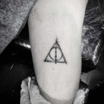 Elder Wand Tattoo Deathly Hallows