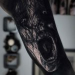 Dark Evil Spirit Tattoo