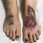 Foot Tattoos About Sea