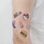 Gameboy Color Tattoo