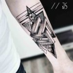 Geometry Dotwork Tattoo Penrose