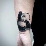 Panda Tattoo on Wrist