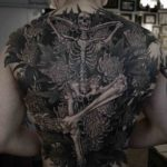 Skeleton Tattoo on Back